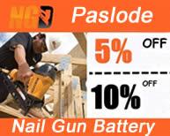 Paslode Nail gun batteries